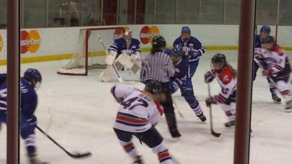 The Toronto Furies vs les Stars de Montréal, February 15 & 16, 2014 at the MasterCard Centre.